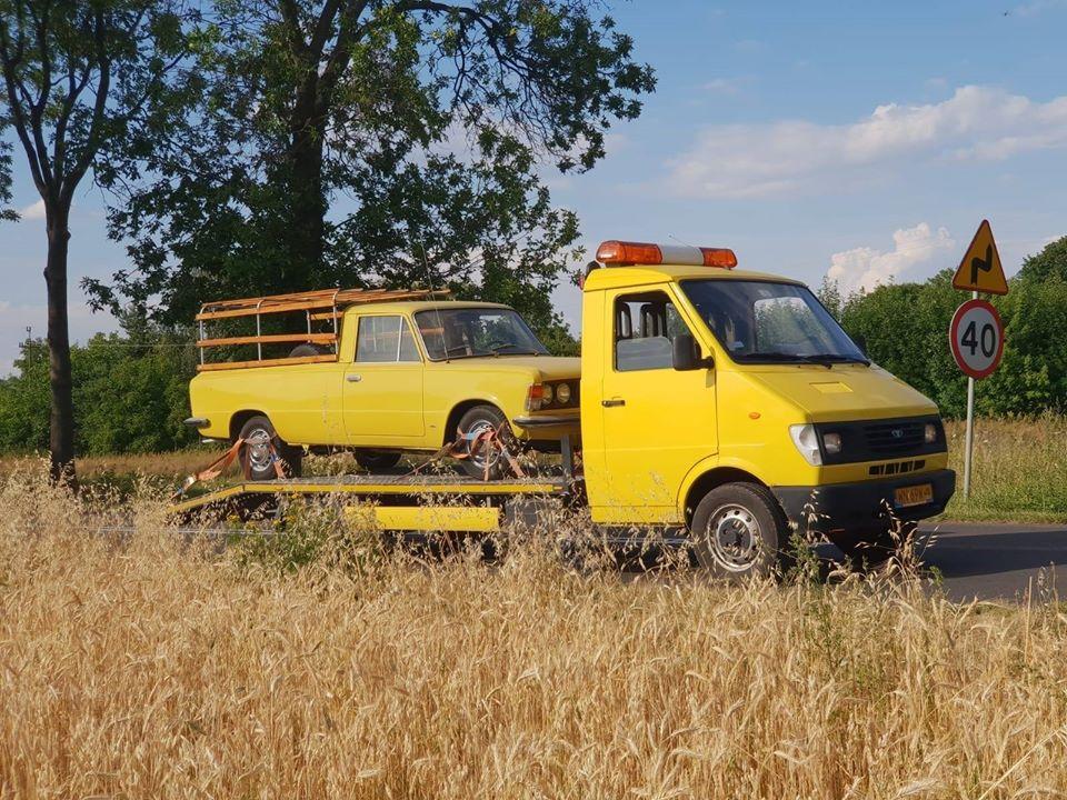 Lublin - Fiat 125p Pickup