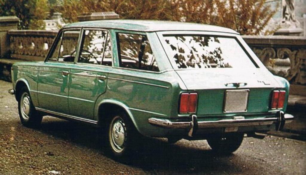 nie Familiare jak w przypadku modelu 124 i wszystkich innych włoskich Fiatów