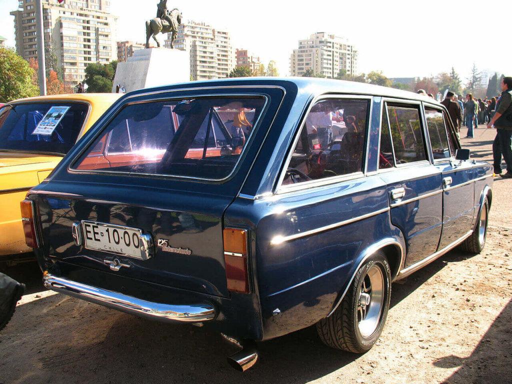Fiat 125 w Chile