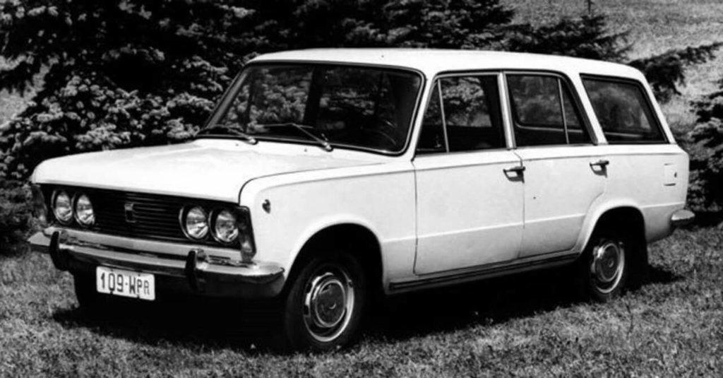Polski Fiat 125p kombi pierwsza seria