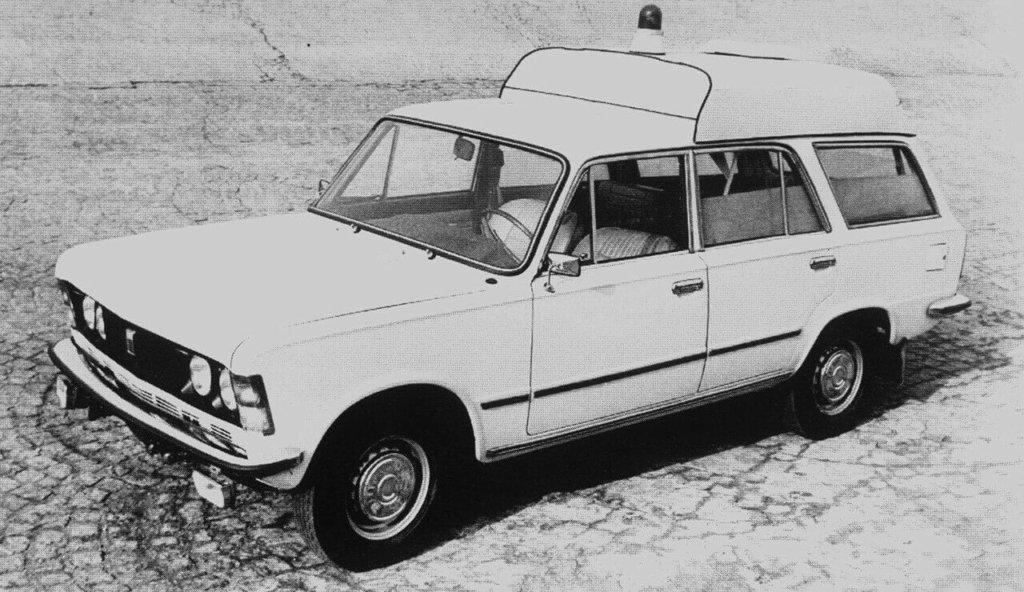 Sanitarka Polski Fiat