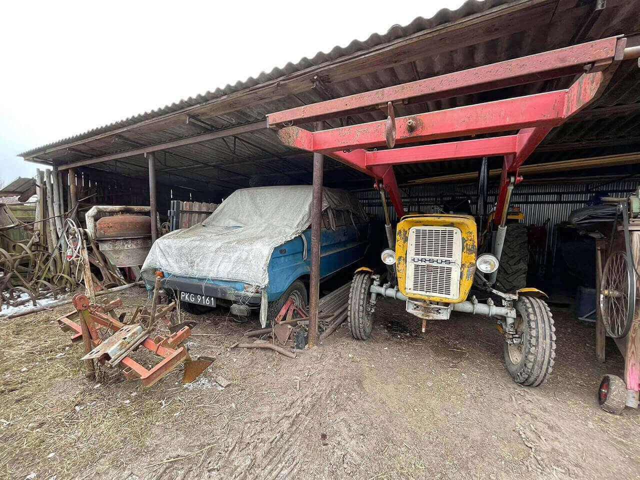 Read more about the article Tarpan 237S z przebiegiem 823 kilometrów trafił do Muzeum SKARB NARODU