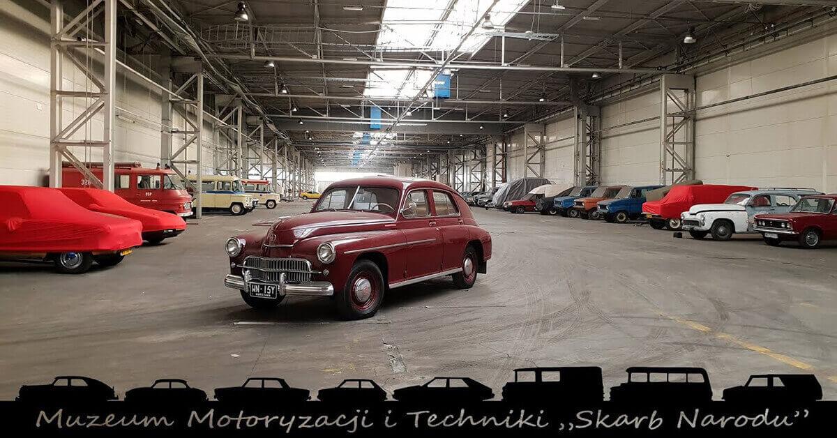 You are currently viewing Muzeum Motoryzacji na terenie Fabryki Samochodów Osobowych