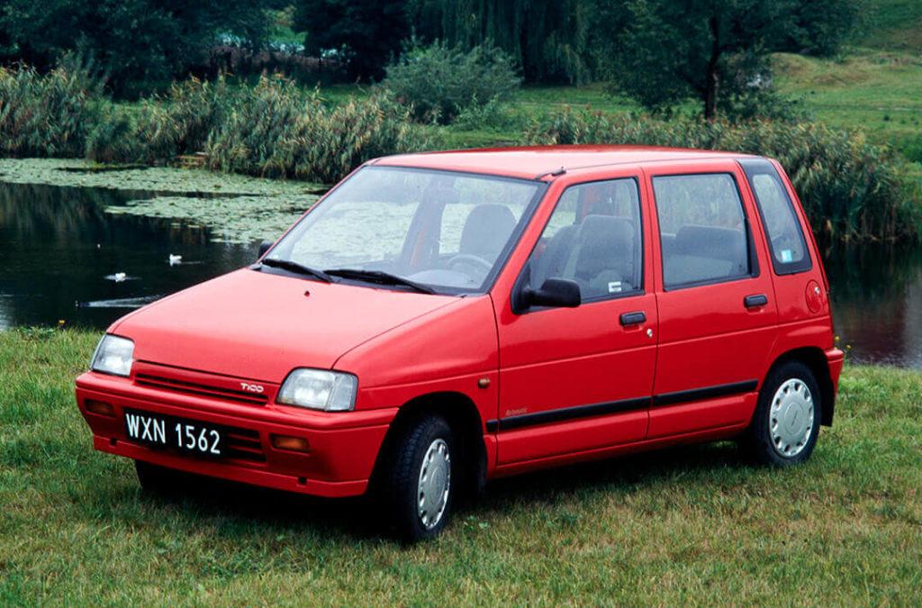 Daewoo Tico - pięciodrzwiowe nadwozie