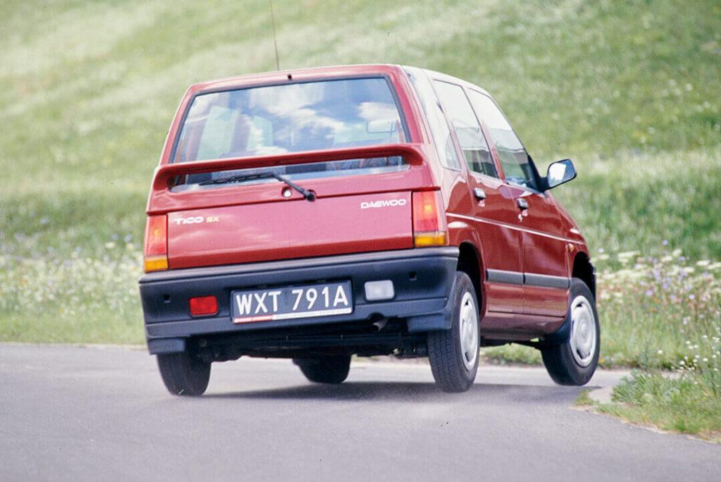 Daewoo Tico - tył auta