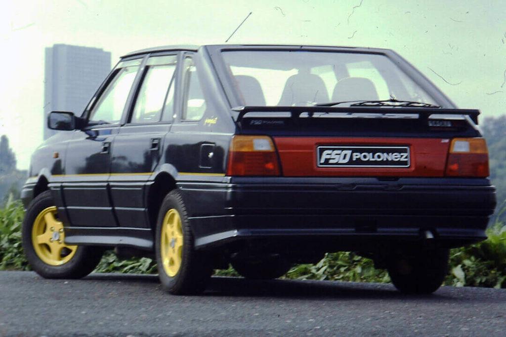 Polonez Caro Orciari 1997 - tył