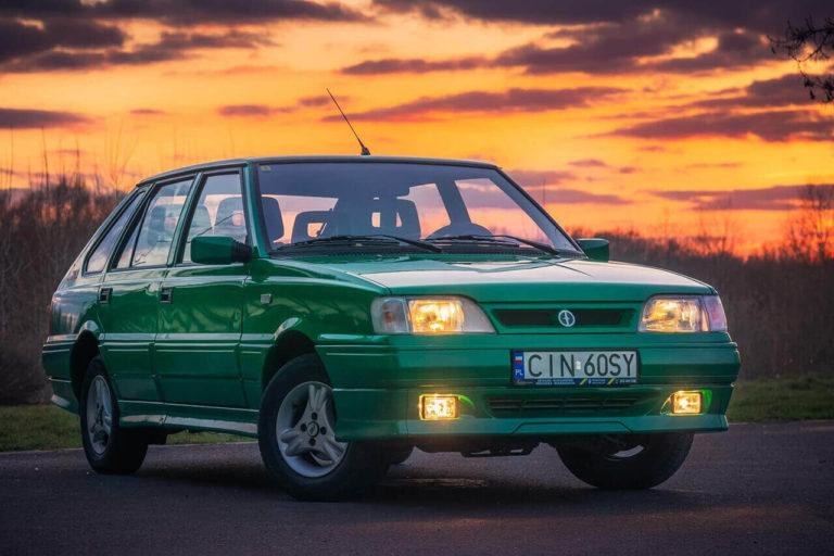 FSO Polonez Caro Orciari - zielony