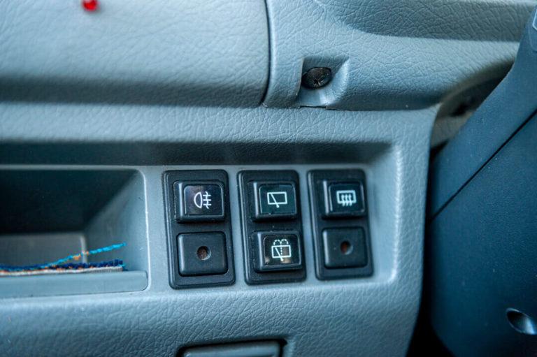 Daewoo Tico - przełączniki na desce rozdzielczej