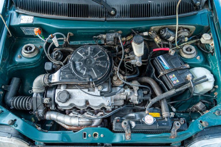 Daewoo Tico - komora silnika