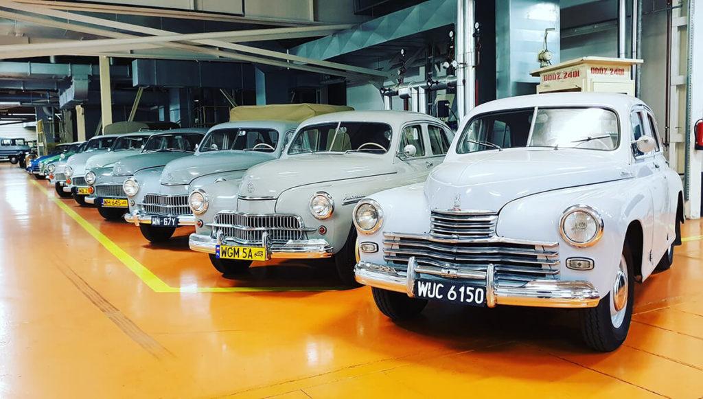 Klasyki w FSO - Wystawa Motoryzacji w Fabryce