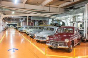 FSO Warszawy na wystawie motoryzacyjnej w Fabryce Klasyki w FSO
