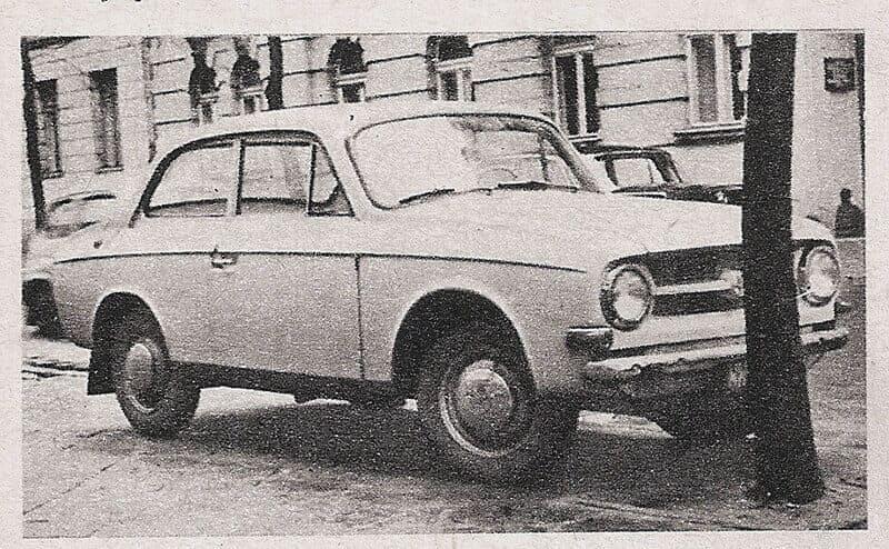 Syrena Laminat 001 - Kwiecień 1971)