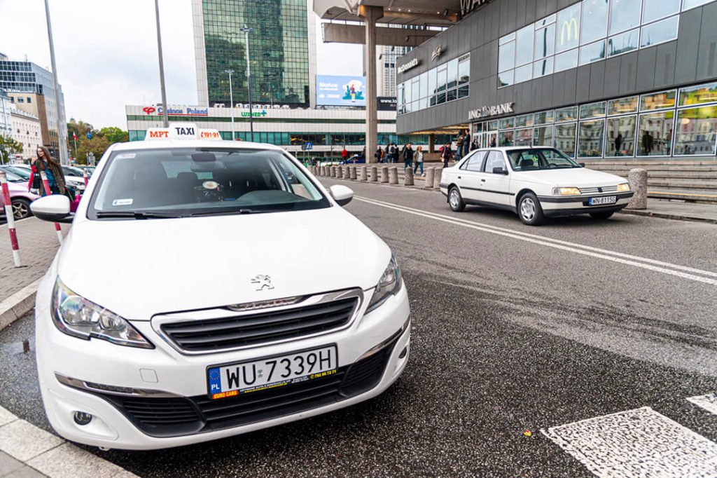 Peugeot 405 - Taksówka