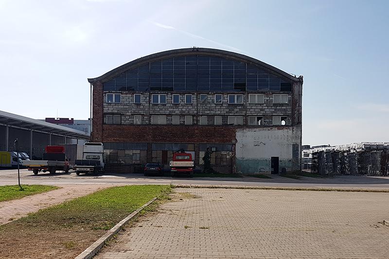 Najstarsza hala łukowa Fabryka Samochodów Osobowych