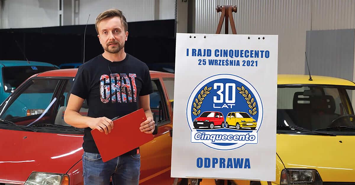 Read more about the article Odprawa I Rajdu Fiata Cinquecento 2021