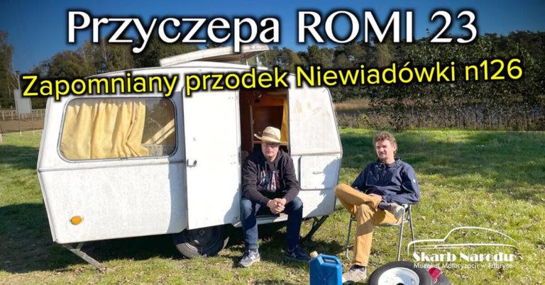 Przyczepa kempingowa Romi-23 z Niewiadowa