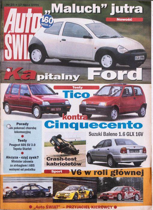 Auto Świat - Nr 29, 17 lipca 1996